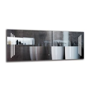 Dubuque Bathroom Mirror Metro Lane Size: 50cm H x 120cm W
