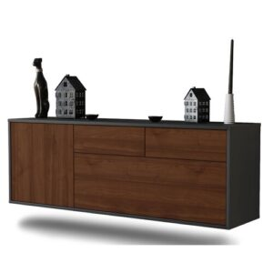 Elsworth TV Stand Ebern Designs Colour: Walnut