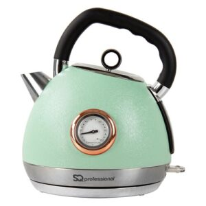 Epoque 1.8L Stainless Steel Electric Kettle SQ Professional Colour: Green