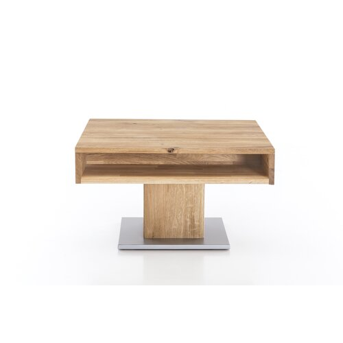 Etta Coffee Table with Storage Gracie Oaks Colour: Wild oak