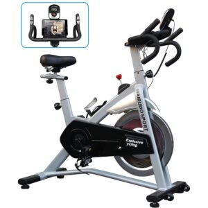 Exercise Bike For Home Workout Indoor Cycling Bike With 18kg Flywheel