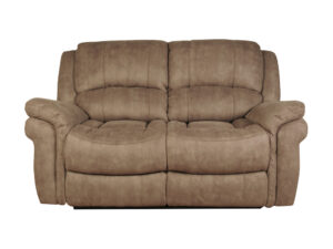 Finchley Taupe Leather 2 Seater Sofa