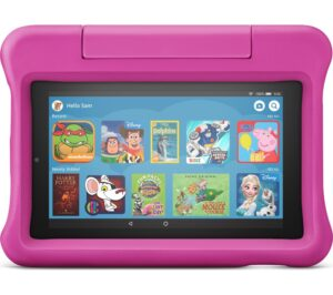 """Fire 7 Kids Edition 7"""" Tablet (2019) - 16 GB, Pink, Pink"""