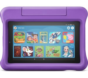 "Fire 7 Kids Edition 7"" Tablet (2019) - 16 GB, Purple, Purple"