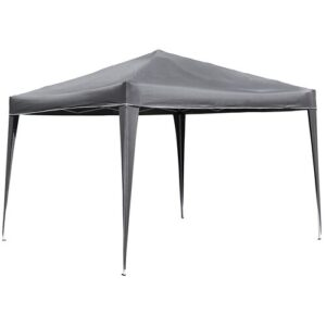 Francestown 3 x 3m Steel Pop-Up Gazebo Sol 72 Outdoor Colour (Roof): Grey