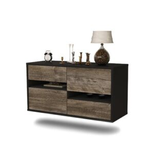Franzella TV Stand Ebern Designs Colour: Dark Oak