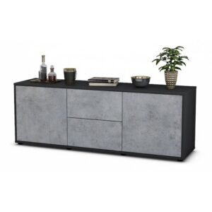 "Fredrick TV Stand for TVs up to 39"" Mercury Row Colour: Concrete / Matte Anthracite"