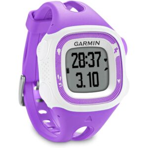 Garmin Forerunner 15 GPS Running Watch and Activity Tracker - Small, Violet/White