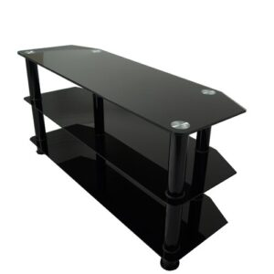 """Glass TV Stand for TVs up to 60"""" Symple Stuff"""