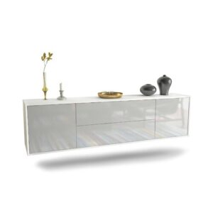 """Gottlieb TV Stand for TVs up to 78"""" Ebern Designs Colour: White"""