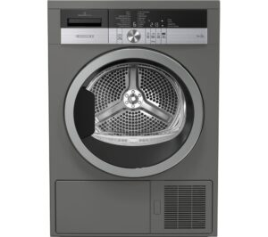 Grundig Tumble Dryer GTN38250MGCG 8 kg Heat Pump - Graphite, Graphite