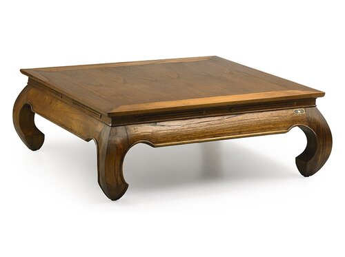 Guildhall Coffee Table Bay Isle Home Size: 40 cm H x 100 cm W x 100 cm D
