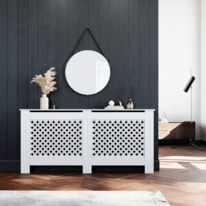 Halee Radiator Cover Belfry Bathroom Size: 810mm H x 1720mm W x 190mm D
