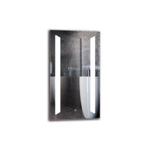 Harwhichport Bathroom Mirror Metro Lane Size: 90cm H x 50cm W
