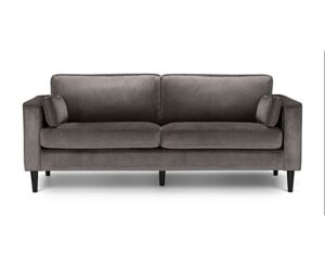 Hazel Velvet Grand 3 Seater Sofa