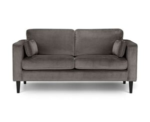 Hazel Velvet Medium 2 Seater Sofa