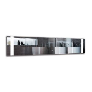 Hemingway Bathroom Mirror Metro Lane Size: 40cm H x 160cm W