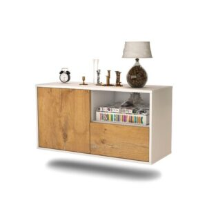 Holscomb TV Stand Ebern Designs Colour: Oak