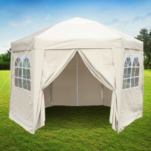 Horicon 3.5m x 3.5m Steel Pop Up Gazebo Sol 72 Outdoor Colour (Roof): Cream