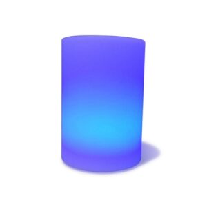 Huevo 15cm Plug-In Integrated LED Colour Changing Outdoor Table Lamp Mantra Fusion