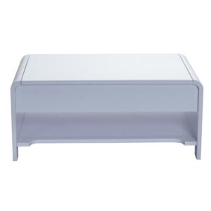 Humble Coffee Table with Storage Brayden Studio Colour: Light Grey