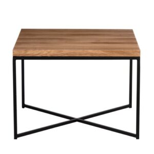 Hurley Coffee Table Mercury Row Colour (Table Base): Black, Size: 43cm H x 60cm L x 60cm W