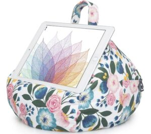 IBEANI Bean Bag Tablet Stand - Floral