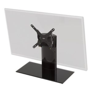 "Inola Tilt and Swivel Universal Desktop Mount for 32"" LCD, LED, Plasma TV Ebern Designs"