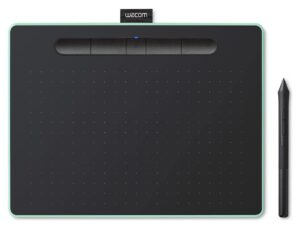 Intuos Comfort Plus PB Medium Graphics Tablet - Pistachio