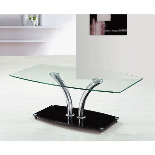 Isabelline Coffee Table Metro Lane Top Finish: Clear