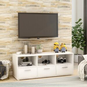 """Isbiorn TV Stand for TVs up to 50"""" Mercury Row"""