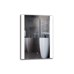Ithaca Bathroom Mirror Metro Lane Size: 70cm H x 50cm W
