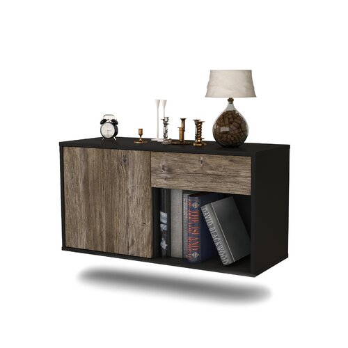 Jacksonville TV Stand Ebern Designs Colour: Dark Oak
