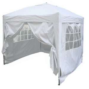 Jarrow 2m x 2m Aluminium Pop-Up Gazebo Sol 72 Outdoor