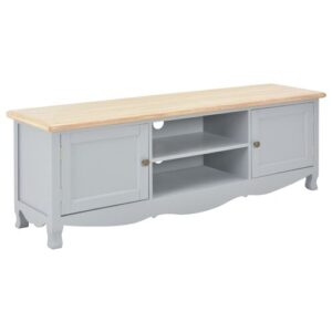 """Jessee TV Stand for TVs up to 49"""" Brambly Cottage Colour: Grey/Beige"""