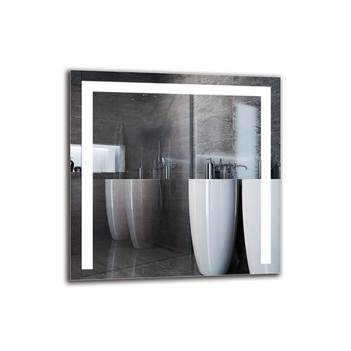 Junayd Bathroom Mirror Metro Lane Size: 60cm H x 60cm W