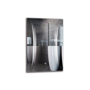 Khachig Bathroom Mirror Metro Lane Size: 60cm H x 40cm W
