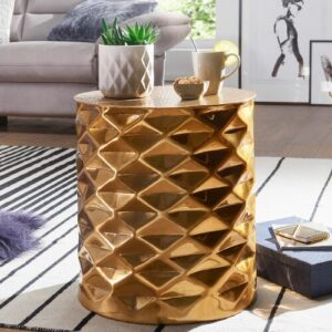 Kiana Coffee Table Rosdorf Park Colour: Gold