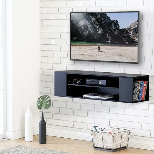 """Kincheloe TV Stand for TVs up to 43"""" Ebern Designs"""