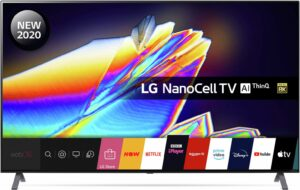 LG 55 Inch NANO956NA 8K Ultra HD Nanocell TV with HDR