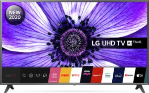 LG 75 Inch 75UN7070 Smart 4K UHD TV with HDR