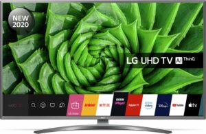 LG 75 Inch 75UN81006LB Smart 4K Ultra HD LED TV with HDR