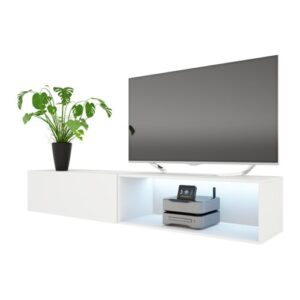 """Larka TV Stand for TVs up to 88"""" Selsey Living Colour: Grey"""