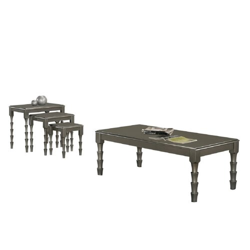 Lilac Coffee Table Marlow Home Co. Colour: Silver