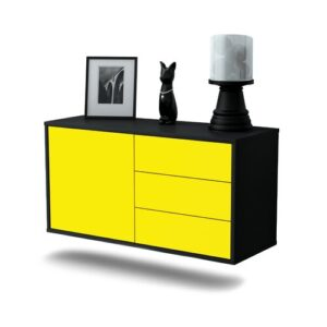 Linsley TV Stand Ebern Designs Colour: Yellow