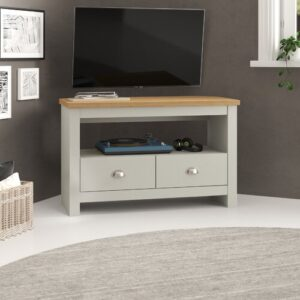Loretta TV Stand Zipcode Design Colour: Grey