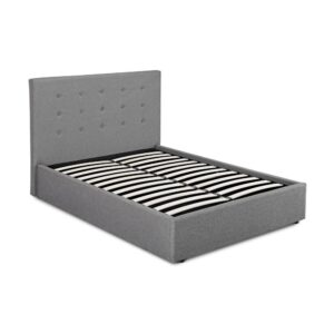 Luca Grey King Size Otttoman Bed