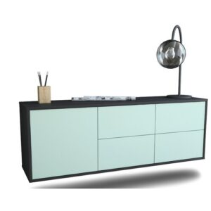 Lucana TV Stand Ebern Designs Colour: Light Blue