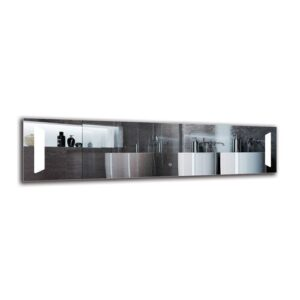 Mackinac Bathroom Mirror Metro Lane Size: 40cm H x 160cm W