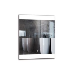 Manase Bathroom Mirror Metro Lane Size: 50cm H x 40cm W